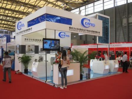 博世力士乐convo变频器亮相2012中国国际线缆及线材展览会