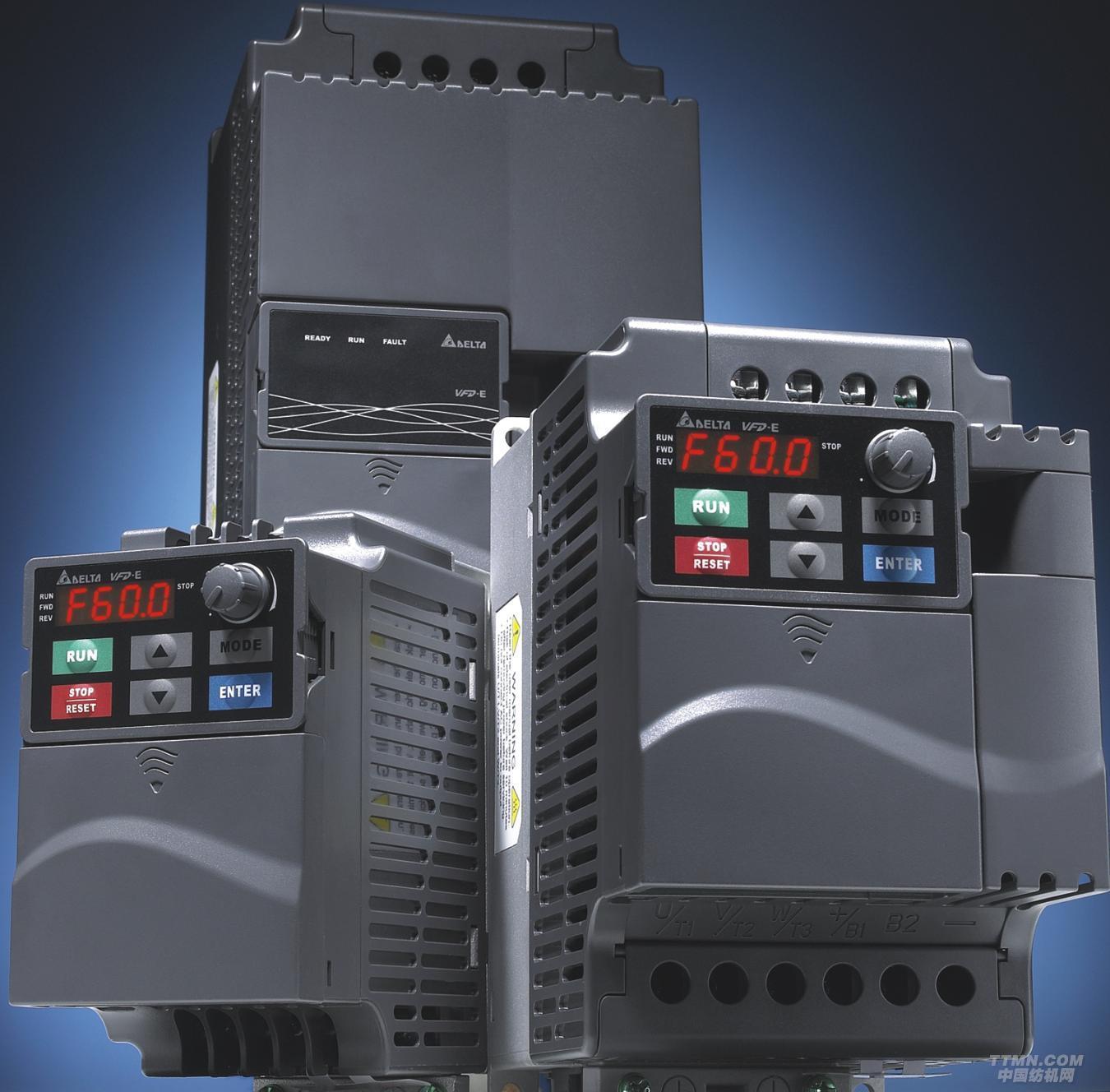 公司名称:北京根德科贸集团  产品描述: 产品信息: 本系列采用弹性模块的设计,最大的特色是内置PLC功能,可编写简易程序储存与执行;并可外加特殊功能扩展卡及通讯卡,是台达小功率型变频器的最佳代表,满足业界最多元化的需求。 规格特性: 1. 输出频率0.1~600Hz 2. 模块化设计 3.