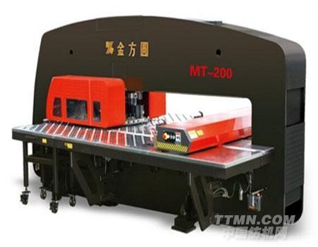 mt系列单伺服数控转塔冲床--产品--江苏金方圆数控