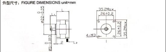 混合式步进电动机(35bygh)|常州市江华电机电器有限