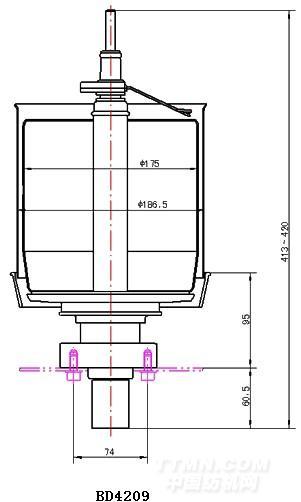 结构及性能特点: 1, 采用龙带传动,标准轴承支承形式,8型锭子结构
