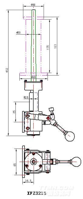 最新粗纱机控制电路图