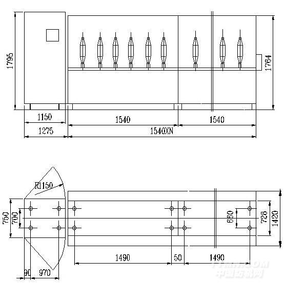 化纤设备电路图