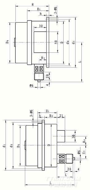 ywk-50压力控制器  [产品]--> kd3051c型差压,表压与绝压变送器