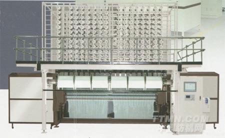 xgm63/1全电脑碳纤维多梳栉提花经编机