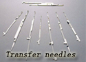 Transfer needles