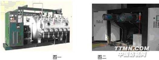 一、前言 卷染机适合目前市场对多品种小批量织物的染色需求,可间歇式生产,发展前景看好应用越来越广泛。卷染机控制方面要求具备自动记道、自动计数、自动换向、自动掉头、自动停车、防坠液等功能,在整个工艺过程中,要求保证布匹的张力和线速度恒定,因此对系统的自控控制水平要求较高。国内较为传统的卷染机大部分采用双直流电机控制,只能达到近似的恒张力控制效果,也有采用单变频器的卷染机,放卷采用异步电机直流制动的方式,收放卷用接触器在变频器和直流制动之间进行切换,以上这些方案,分析其原理,都是在较大误差情况下的一种近似结果