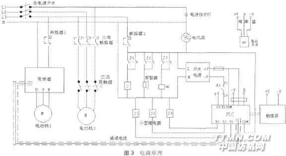 2控制系统电路及工作原理