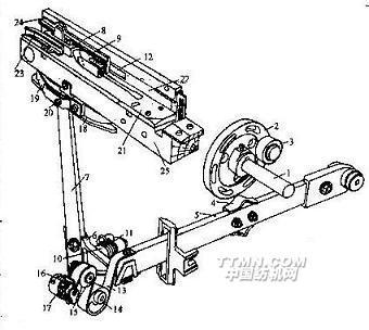 轨道汽车手绘图