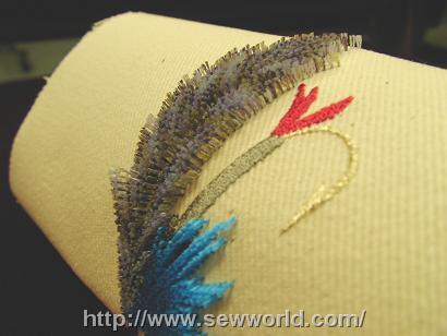我公司经营各种植绒绣牙刷绣立体绣打板样品.