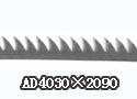 清梳联镰齿型道夫针布 AD4030×2090