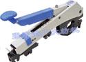 QYJ142-PV-SP皮圈钳口可调、带手柄压力调整功能的平面六角管气动摇架(第五代傻瓜机)