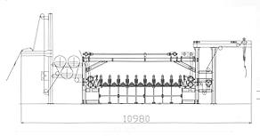 YMH913A型磨毛联合机(卧式)