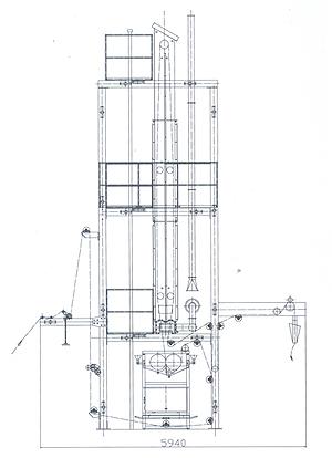 YMH781型快速高效无底蒸化机