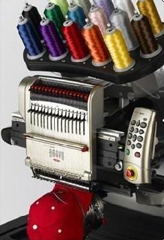16色电脑绣花机