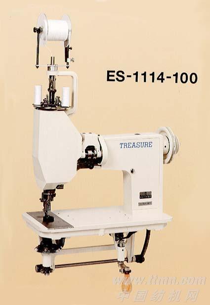 BS-1114-100型万能人字平缝手摇式绣花机