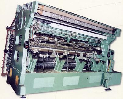 GE239拉舍尔双针床遮阳网经编机(遮阳网机)