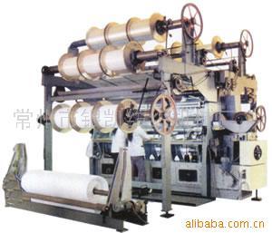 GE286型双针床中短绒经编机(图)