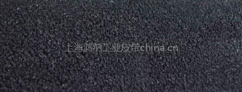 拉幅定型机黑短绒糙面带