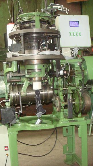 GE537W机械绣花毛圈袜机