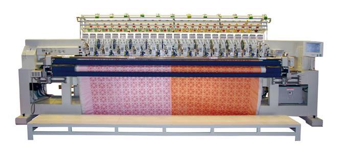 电脑绗缝绣花机
