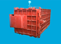 节能环保方形蒸箱