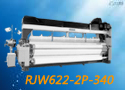 RJW622-2P-340双泵双喷电子储纬多臂重磅喷水织机