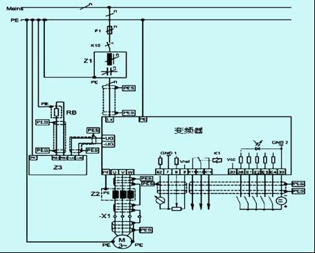直流自动往复系统pid电路图